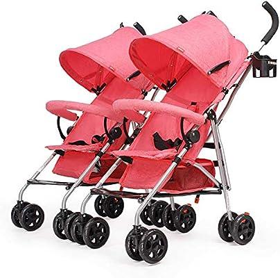 Amazon.com: YXGH- Carrito doble, carrito de bebé, carrito de ...