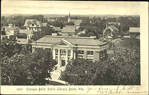 carnegie-beloit-public-library-beloit-wisconsin-original-vintage-postcard