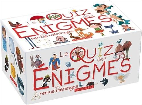 Le Quiz Enigmes Et Remue Meninges Pdf Telecharger Synliruthnykabo