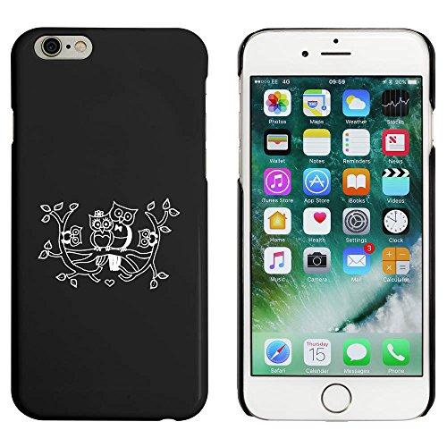 Noir 'Famille Hibou Mignonne' étui / housse pour iPhone 6 & 6s (MC00032873)