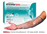 PICC LINE and Bandage COVERS - 25 Pack - SMALL - Elbow/Knee Waterproof Wound Protection - Disposable - Value!