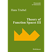 Theory of Function Spaces III: 100 (Monographs in Mathematics)
