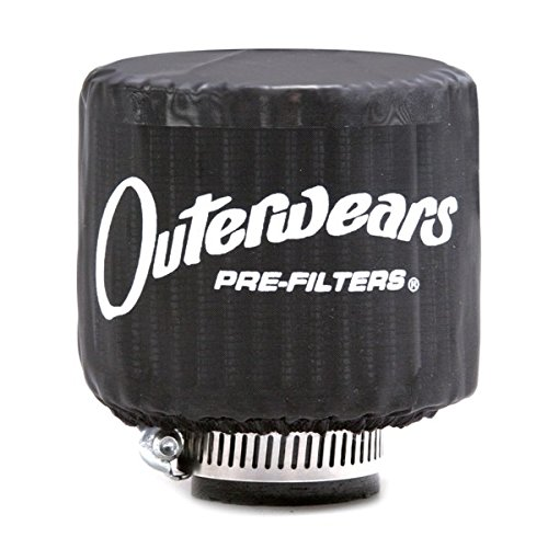 Black Outerwear Prefilter With Top Round 3
