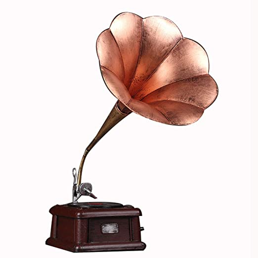 XINYANG Metal Antiguo Vintage Gramófono Tocadiscos Modelo ...