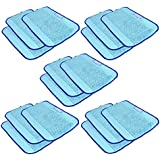 Microfiber 15-Pack, Pro-Clean Mopping Cloths for irobot Braava jet Floor Mopping Robot 380 380T