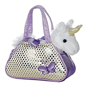 Aurora Unicorn Fancy Pals Purse with 8″ Unicorn Collection