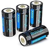 Rechargeable Batteries for Arlo Camera, Rainyb RCR123A Rechargeable Batteries 3.7V 700mAh Li-ion Battery for Arlo CamerasVMK3200 VMC3030 VMS3330/3430/3230/3530 Security Cameras