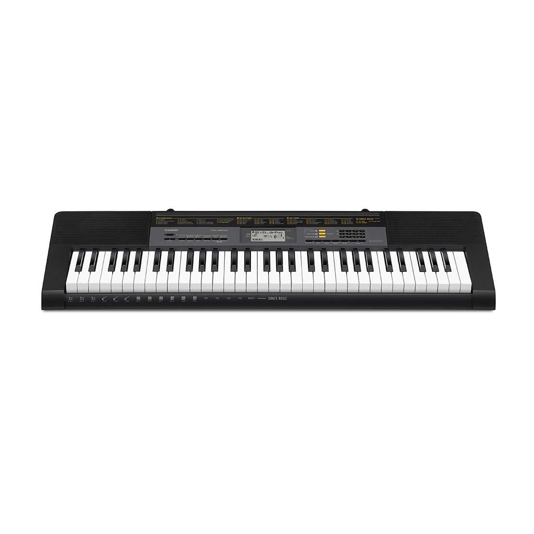CASIO CTK-2500 - Instrumento musical, Teclado estándar con 61 teclas estilo piano product