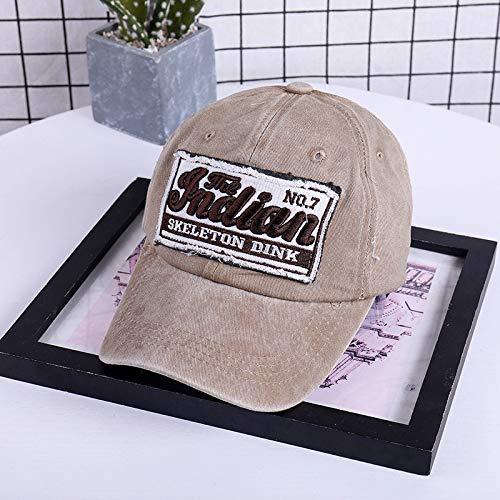 Gorra de béisbol Unisex Hip Hop Danza Ajustable Show Curved Hat con, Gorra de béisbol para Mujer Hip Hop, rendimiento Ajustable, curva con anillo Khaki at ...