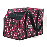Kyjen Outward Hound Eco Lightweight Carrier, Spotty Dot, 8.25 x 10.25 x 14.75-Inches, My Pet Supplies