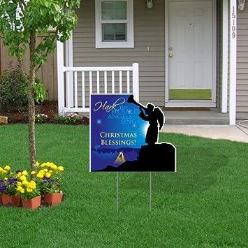 Amazon Com Victorystore Yard Sign Outdoor Lawn Decorations Hark