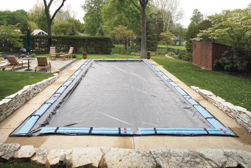 44' Rectangle Green (20' x 44' In-Ground Rectangle Pool Winter Cover - 20 yr)