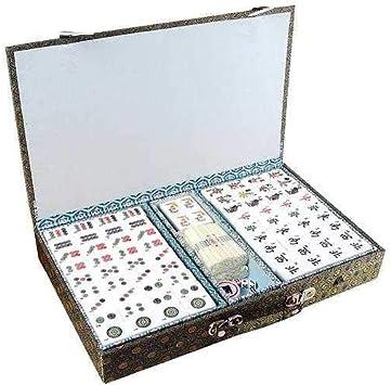 Engelhart - Chino Mahjong Juegos de mesa para adultos - 250400: Amazon.es: Juguetes y juegos
