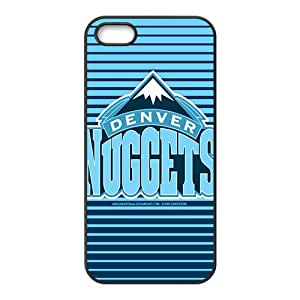 Denver Nuggets NBA Black Phone Case for iPhone 5S Case