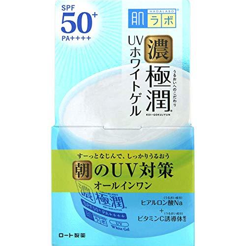 Japan Health and Beauty - Skin lab Gokujun UV white gel (SPF50 + PA ++++) 90g *AF27* from Skin Research (Hadarabo)