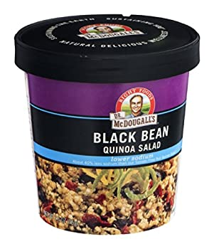 Dr. Mcdougall's Right Foods Lower Sodium Bean Quinoa Salad, Black, 2.6 Ounce (Pack Of 6) 5