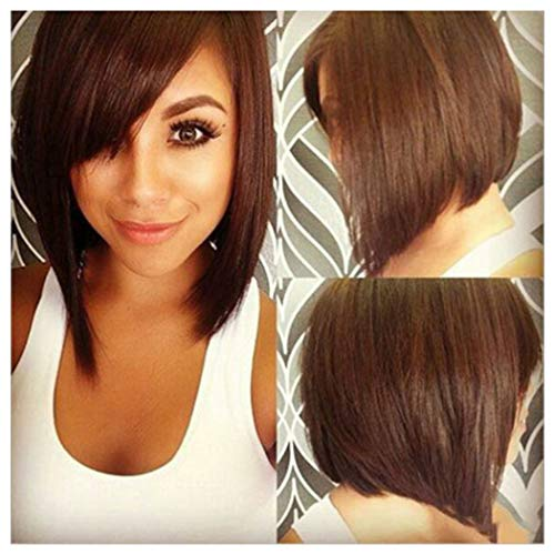 Clearance Bob Wig, Inkach Short Straight Hair for