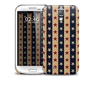 Vintage Star Pattern Samsung Galaxy S4 GS4 protective phone case