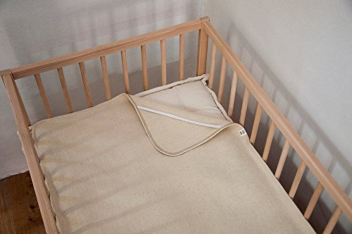 Home of Wool / Wool Puddle Pad /Non-toxic Protector / Natural Moisture Barrier / Cover for Changing Table, Crib, Cradle or Bassinet Mattress / Custom Sizes Available (Table Stokke Changing)