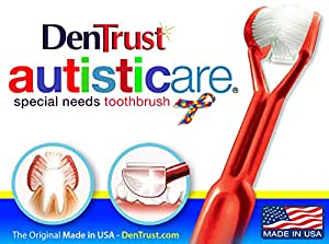 Amazoncom DenTrust Sided Toothbrush Specialty Toothbrush - In usa