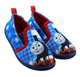 Thomas The Train Blue and Red Toddler Daycare Slippers (9-10 M US Toddler)