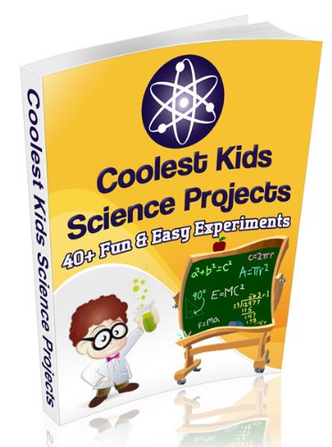 Amazon Com Coolest Kids Science Projects 40 Fun Easy Science