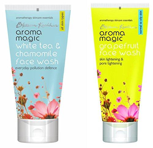 Aroma Magic White Tea and Chamomile  amp; Grapefruit Face Wash Combo
