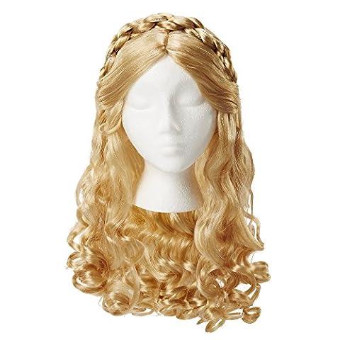 CINDERELLA LIVE ACTION 82060 Ella Royal Locks Wig (Autentica Degli Accessori Del Costume Disney)