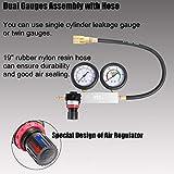 N / A YSTOOL Dual Gauges Cylinder Leakage Tester