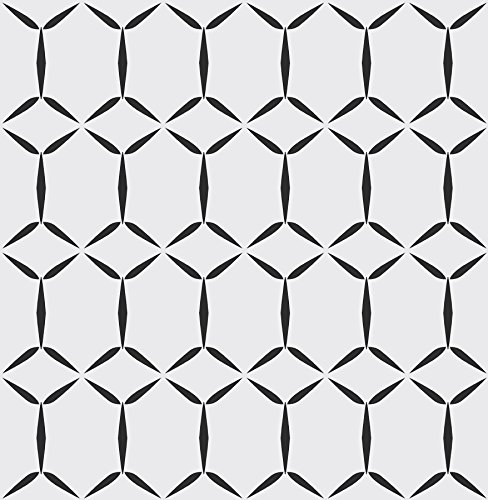 A-Street Prints 2716-23856 Fusion White Geometric Wallpaper, ()
