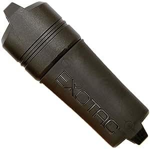 Exotac fireSLEEVE waterproof lighter, Black, No Lighter Black