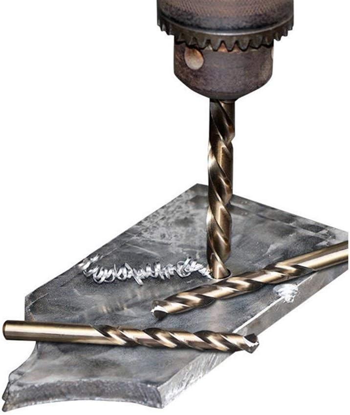 SHENYUAN M42 HSS Twist Drill Bit Set 3 Edge Head 8% High Cobalt Drill Bit for Stainless Steel Wood Metal Drilling 25pcs drill set (Color : 13PCS) 25pcs