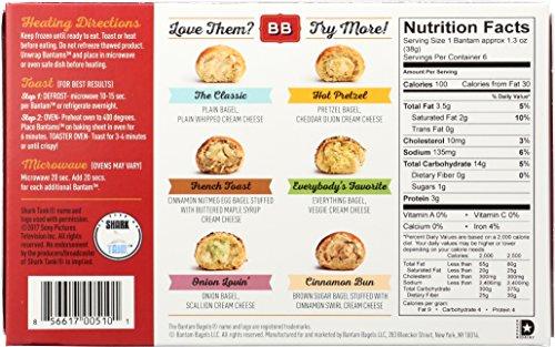 Bantam Bagels Stuffed Classic, 7.8 oz (frozen): Amazon.com: Grocery ...