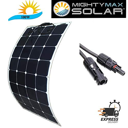 Mighty Max Battery 100 watt Mono Flex Solar Panel Brand Product