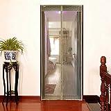 GONGFF Magnetic 100Cm Wide X 210Cm High Patio Door,#3,120220Cm