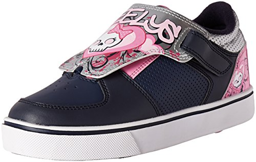Heelys Kids' Twister X2 Sneaker - Navy/Pink/Silver - 13 M...