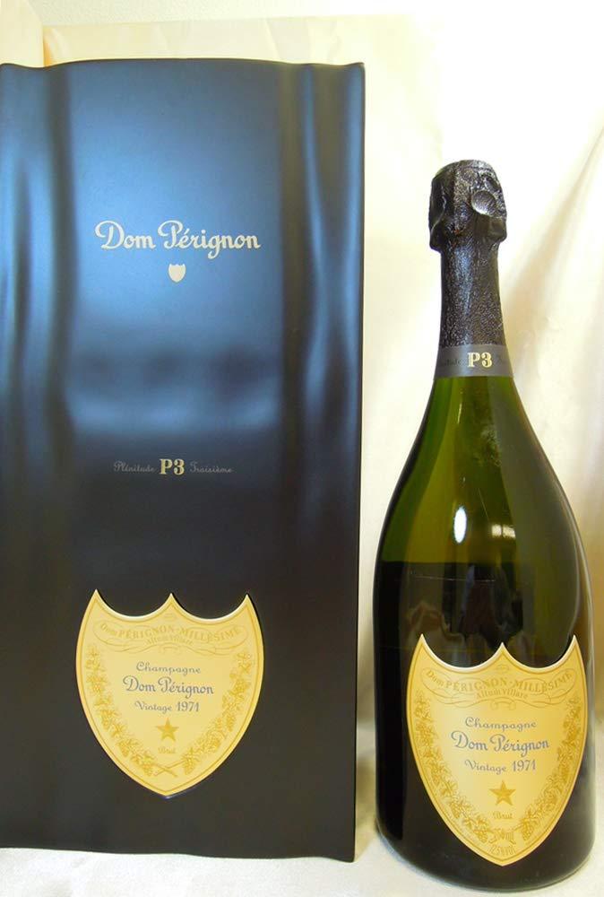 【古酒】Dom Perignon ドンペリニヨン 1971 P3 箱付  B07N1CVBRM