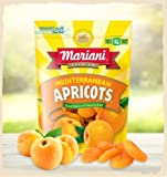 Lot of 4 Bags Mediterranean Apricots (Product of Turkey) 4 oz/each sealed bag