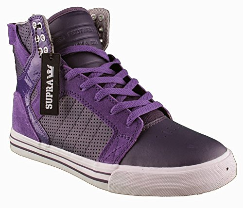 SUPRA Men's Skytop Sneaker 10.5 Purple