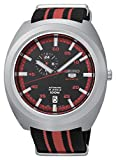 "SEIKO 5 ""Diastar"" Sports 100M Retro Automatic Red Black Nato Watch SSA287K1"