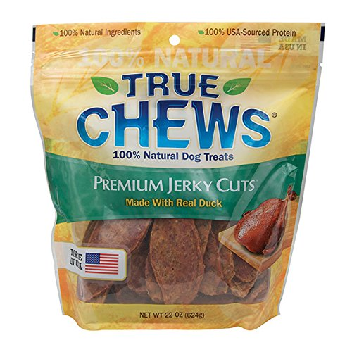 True Chews Premium Jerky Cuts Made with Real Duck, 22 oz Review