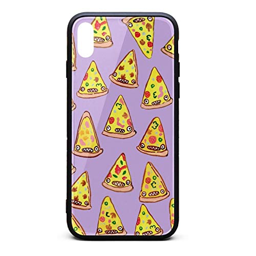 Funny Pizza Online Deals Popular Mode Near me Phone Case for iPhone X/XSTPU Protective Perfectly fit Anti-Scratch Fashionable Glossy Anti Slip Thin Shockproof Soft Case