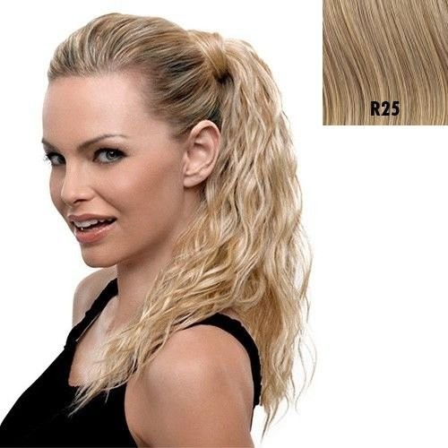 Hairdo Style-able Synthetic Ponytail, R25 Ginger Blonde, 18-inch  -