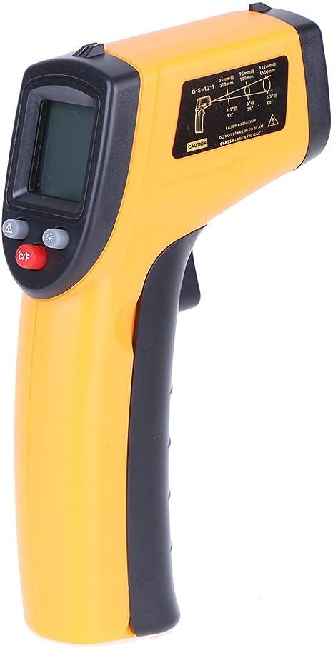 Laser Infrarot Thermometer Kingtop Pyrometer Digital Ir Thermometer 50 C 380 C Küche Haushalt