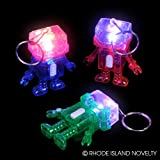 2'' LIGHT-UP ROBOT KEYCHAIN, Case of 288