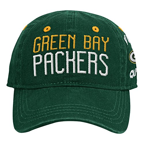 Outerstuff NFL NFL Green Bay Packers Infant My First Slouch Hat Hunter Green, Infant One Size - Green Bay Packers Infant
