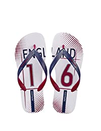 Hotmarzz Men's Flip Flops USA England Summer Sandals Beach Slippers