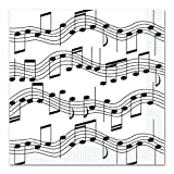 Musical Note Luncheon Napkins