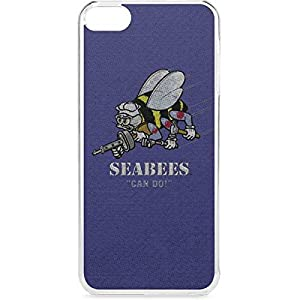Skinit US Navy iPod Touch 6th Gen LeNu Case - Seabees Can Do Design - Premium Vinyl Decal Phone Cover from Skinit