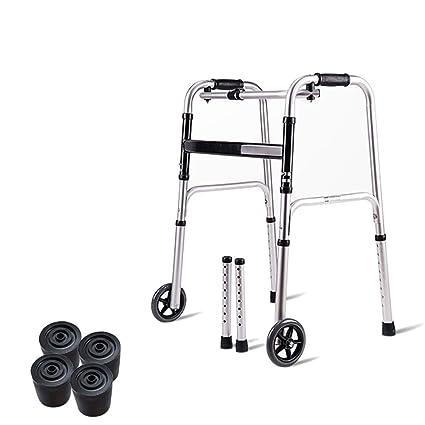 Andador/Andador Anciano/Con Ruedas,Andador Ligero/De Aluminio/Plegado/